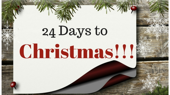 24 Days To Christmas!!!
