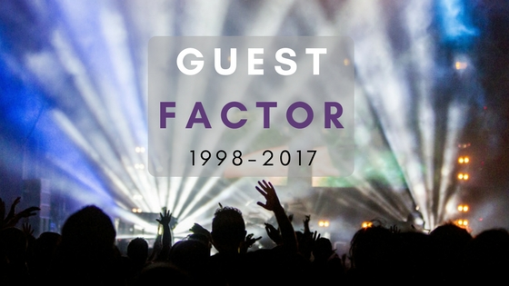 Guest Factor 1998-2017