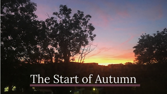 The Start Of Autumn